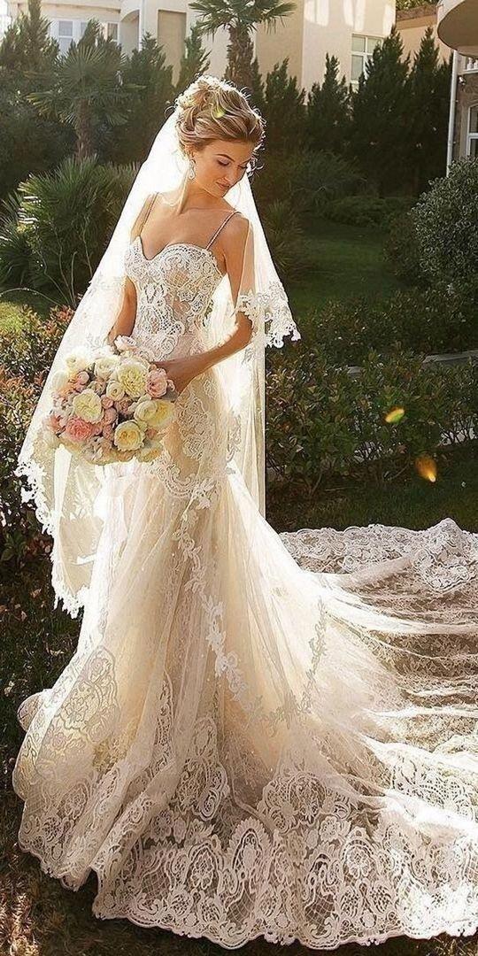 Tipuri de dantelă pentru rochia de mireasă
