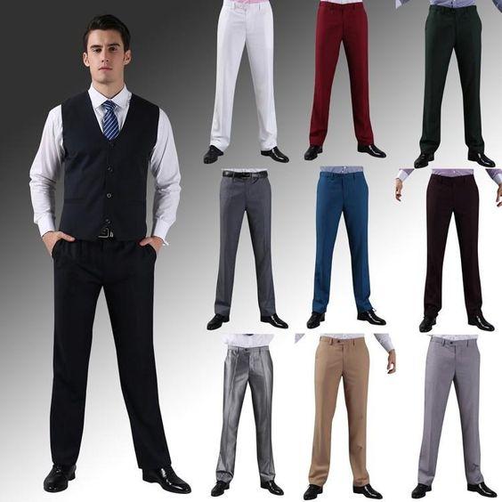 Pantalonii, stiluri și culori